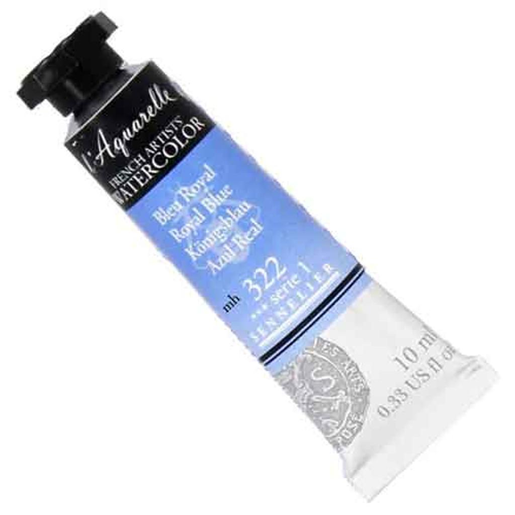 Sennelier l'Aquarelle Watercolour 10ml Tubes | Royal Blue 322 S1
