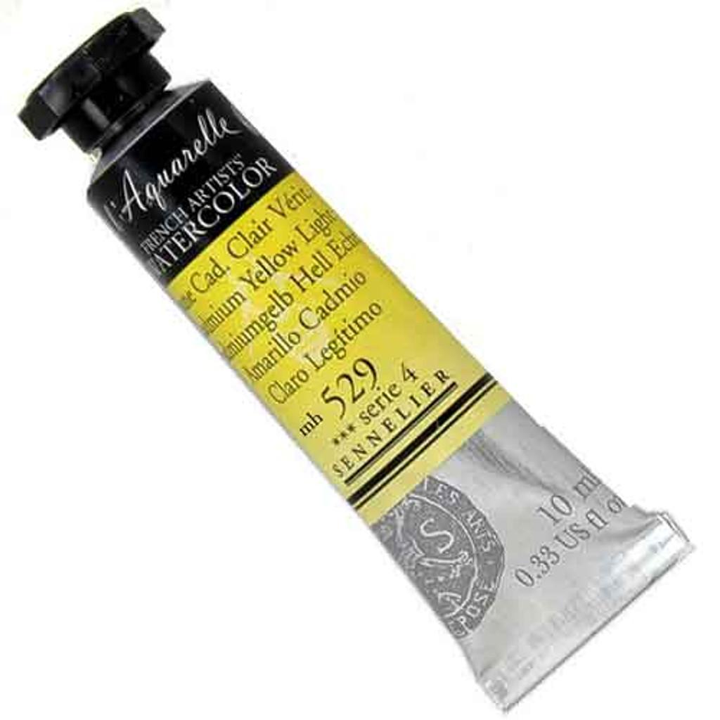 Sennelier l'Aquarelle Watercolour 10ml Tubes | Cadmium Yellow Light 529 S4