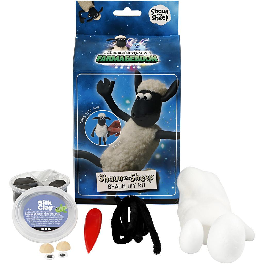 Silk Clay   Shaun the Sheep Farmageddon Modelling Kit   Shaun