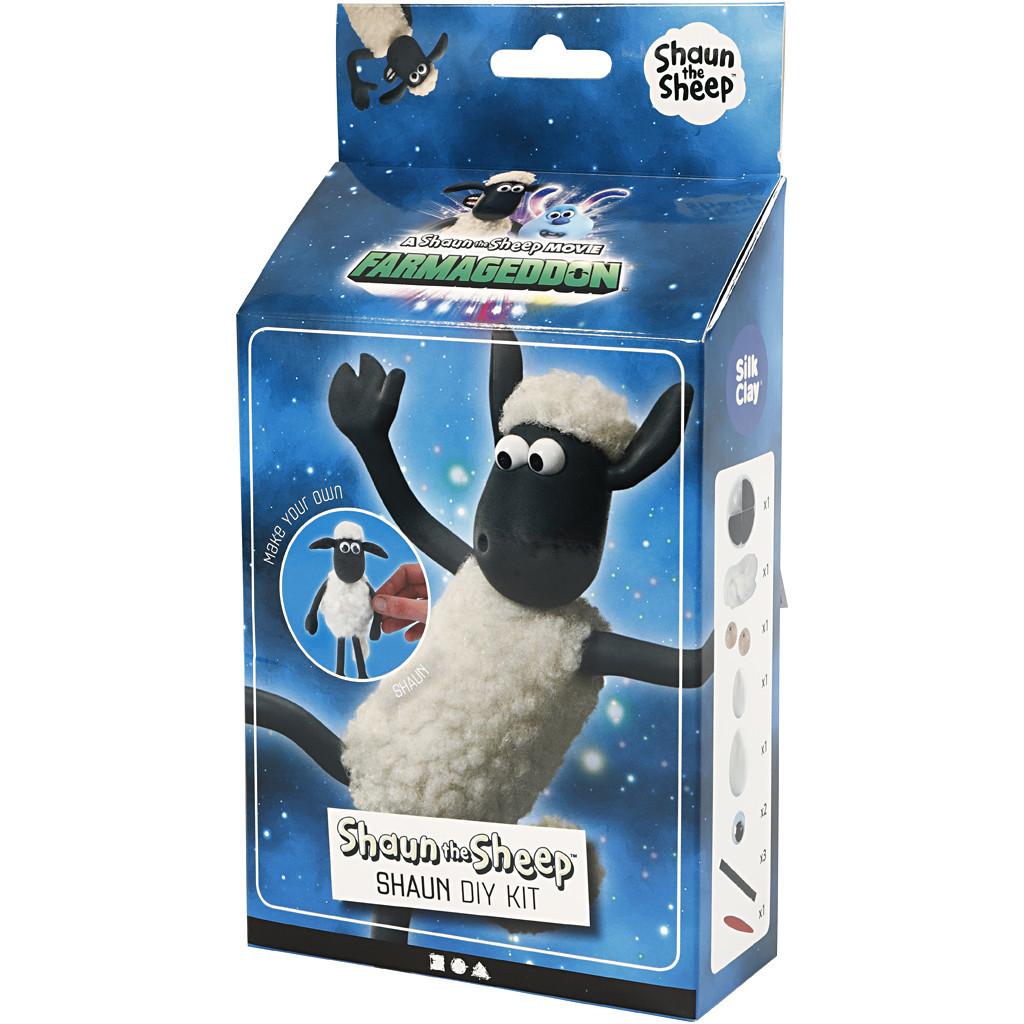 Silk Clay   Shaun the Sheep Farmageddon Modelling Kit   Shaun   Packaging Front
