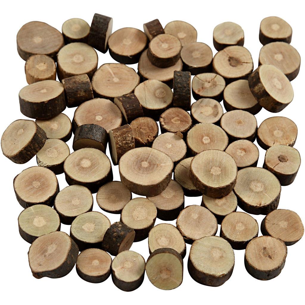 Creativ Company | Wood Mix | 10mm-15mm x 5mm | 57g