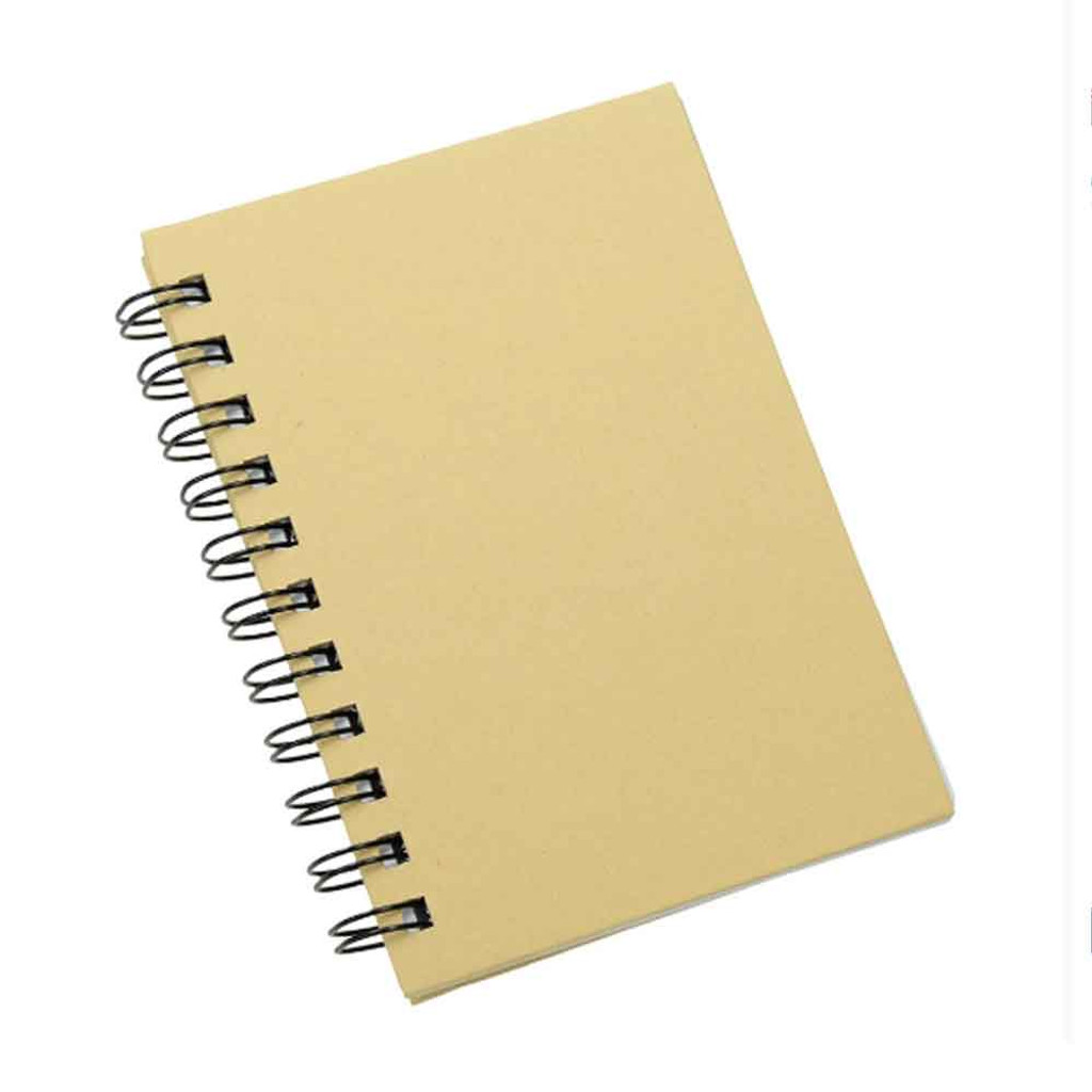 A6 Plain Covered Notebook