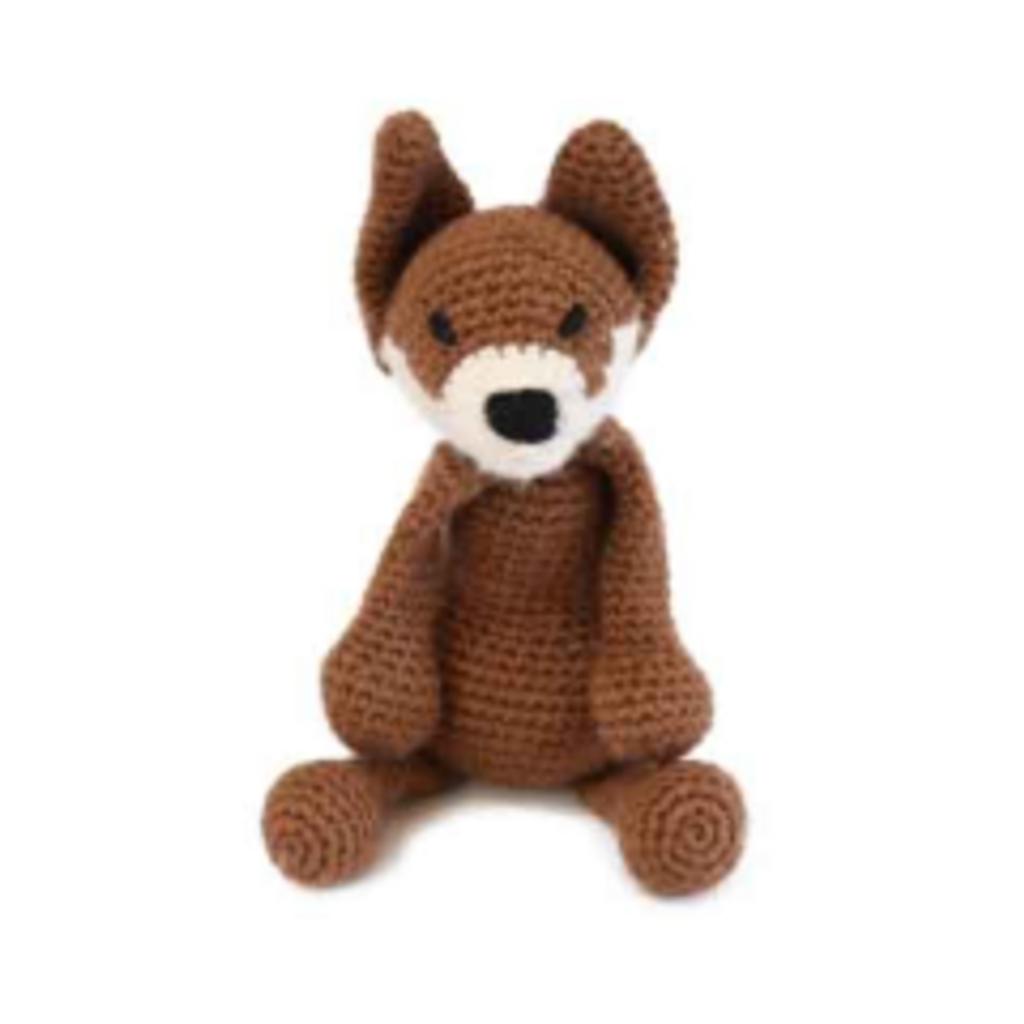 Toft Amigurumi Crochet Kits | Edward's Menagerie Animals | Kerry Lord | Esme the Fox - Level 3 (Intermediate)