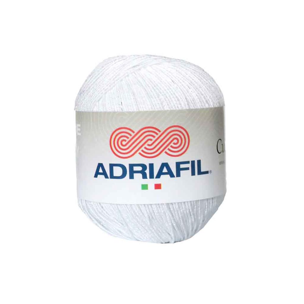 Adriafil Cupido 4 Ply Knitting Yarn, 50g Balls | 20 White