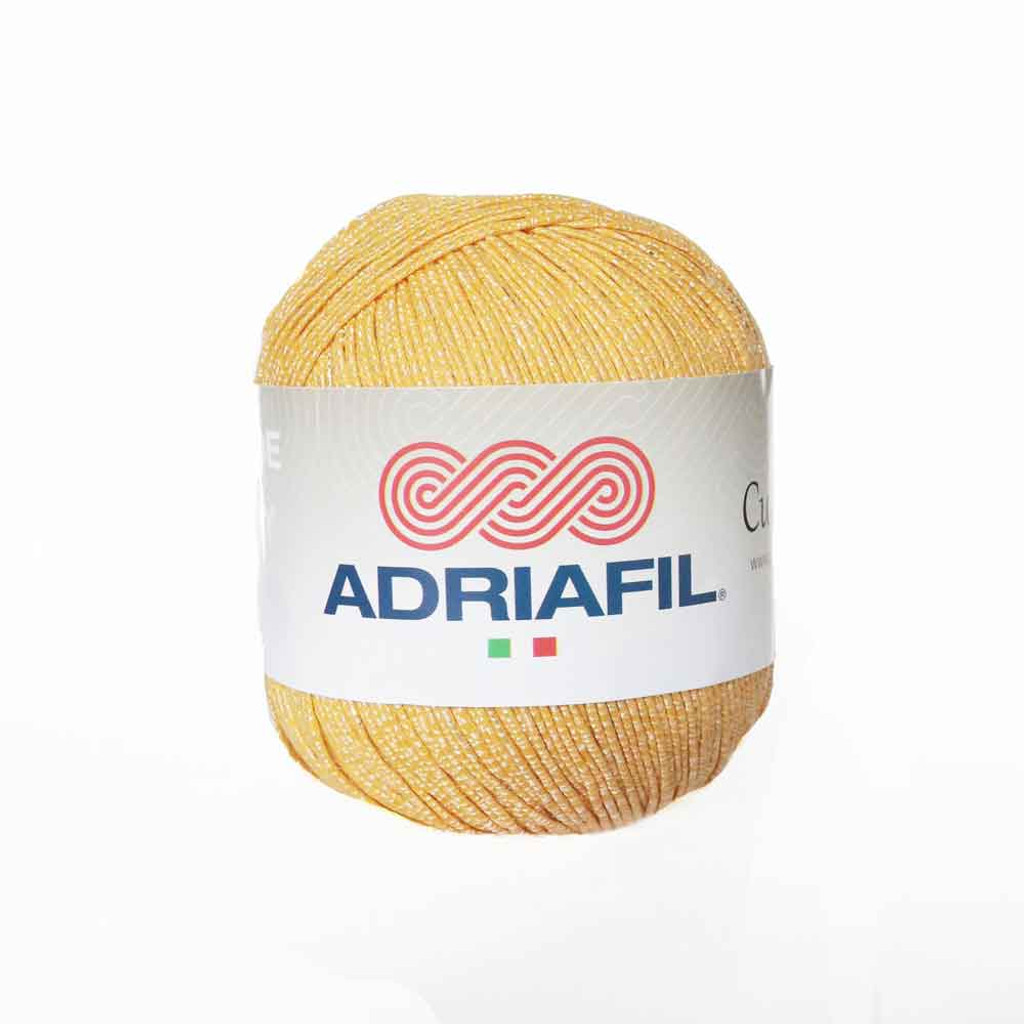 Adriafil Cupido 4 Ply Knitting Yarn, 50g Balls | 21 Yellow