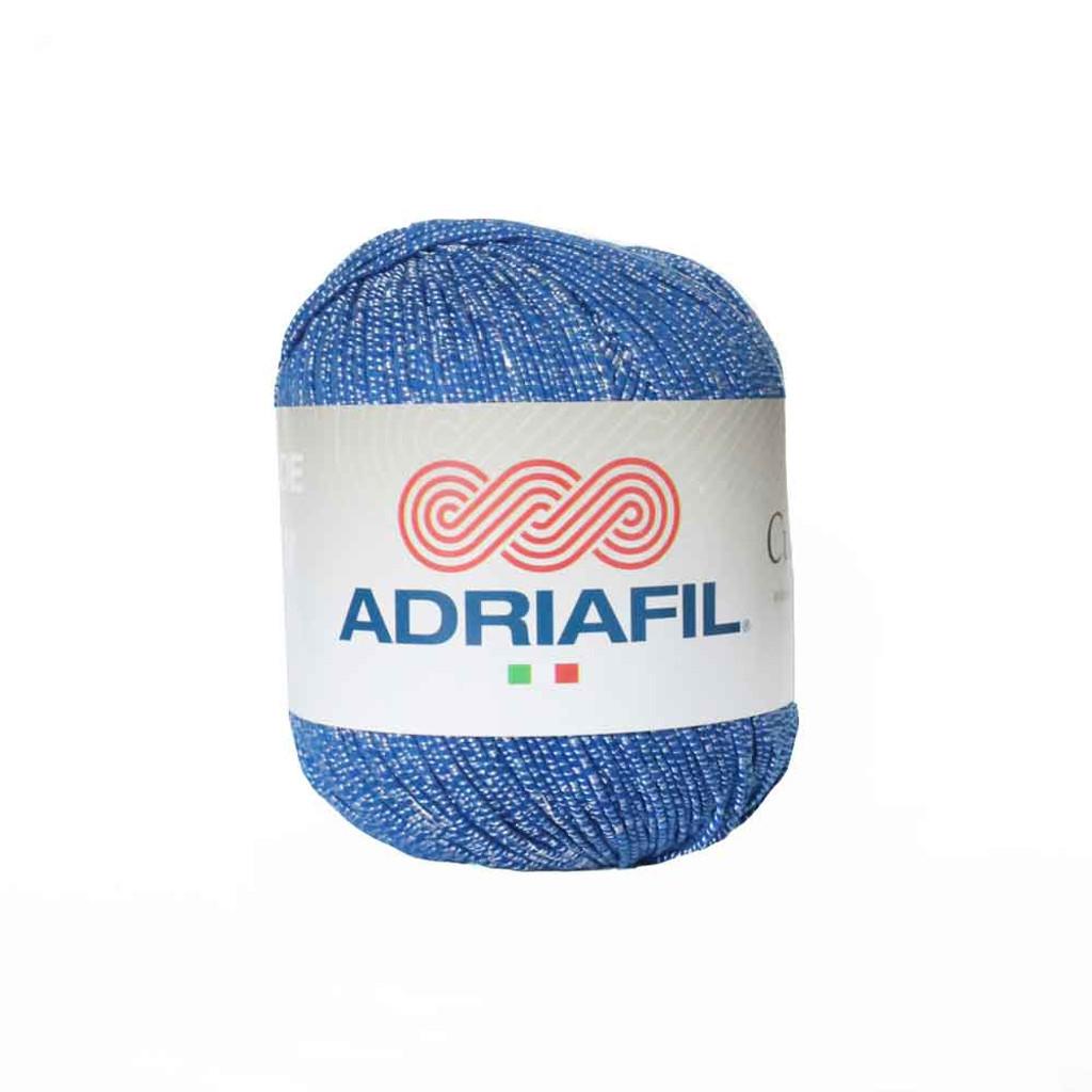 Adriafil Cupido 4 Ply Knitting Yarn, 50g Balls | 27 Bright blue