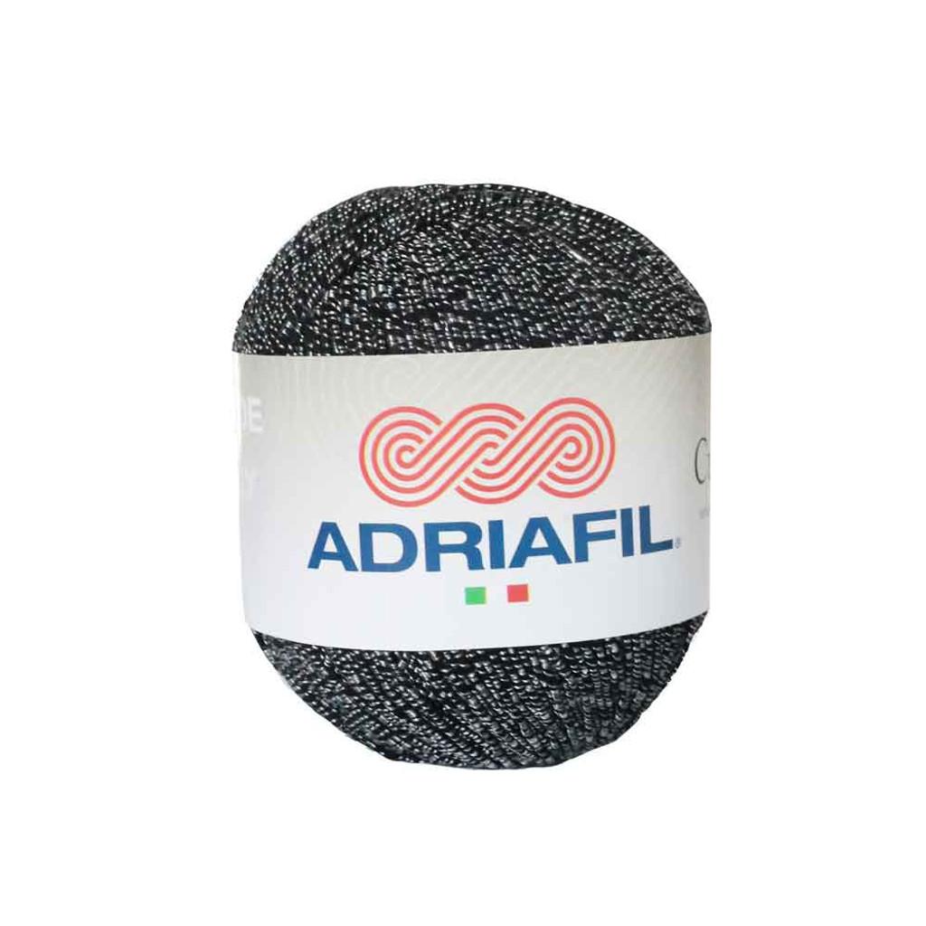 Adriafil Cupido 4 Ply Knitting Yarn, 50g Balls | 29 Black