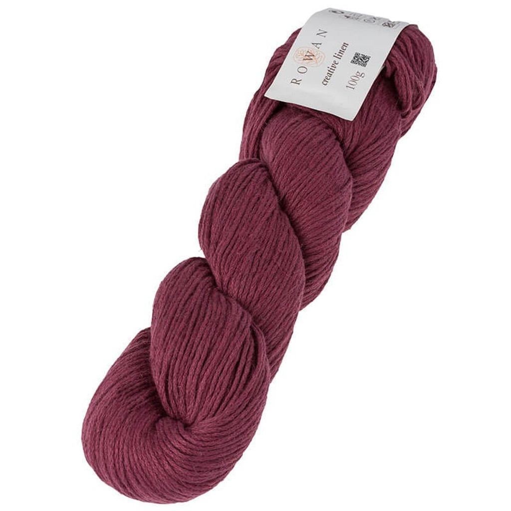 Rowan Creative Linen 100g Hanks | 631 Raspberry