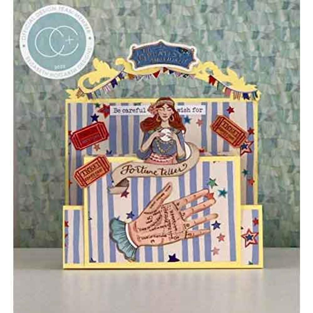 Circus | Clare Therese Gray | Craft Consortium | Washi Tape - Sample 1