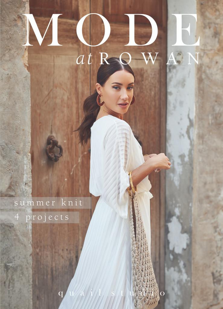 Mode at Rowan | Summer Knit - 4 Projects | Quail Studio (ZB270)