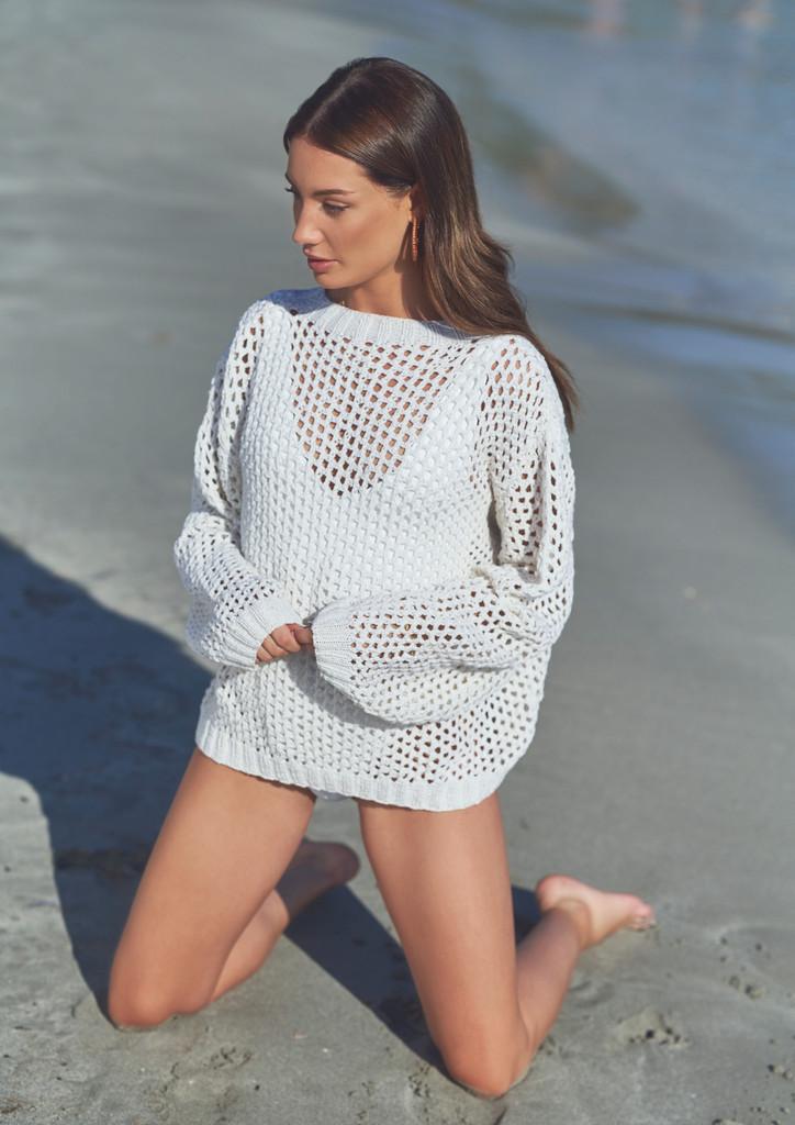Mode at Rowan   Summer Knit - Mesh Sweater