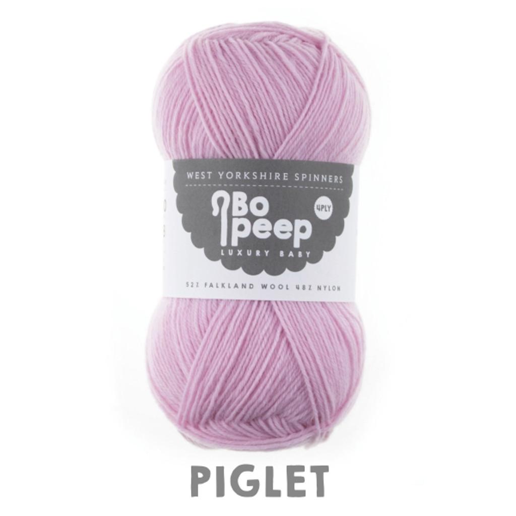 WYS Bo Peep Luxury Baby 4 ply Knitting Yarn, 50g | 269 Piglet