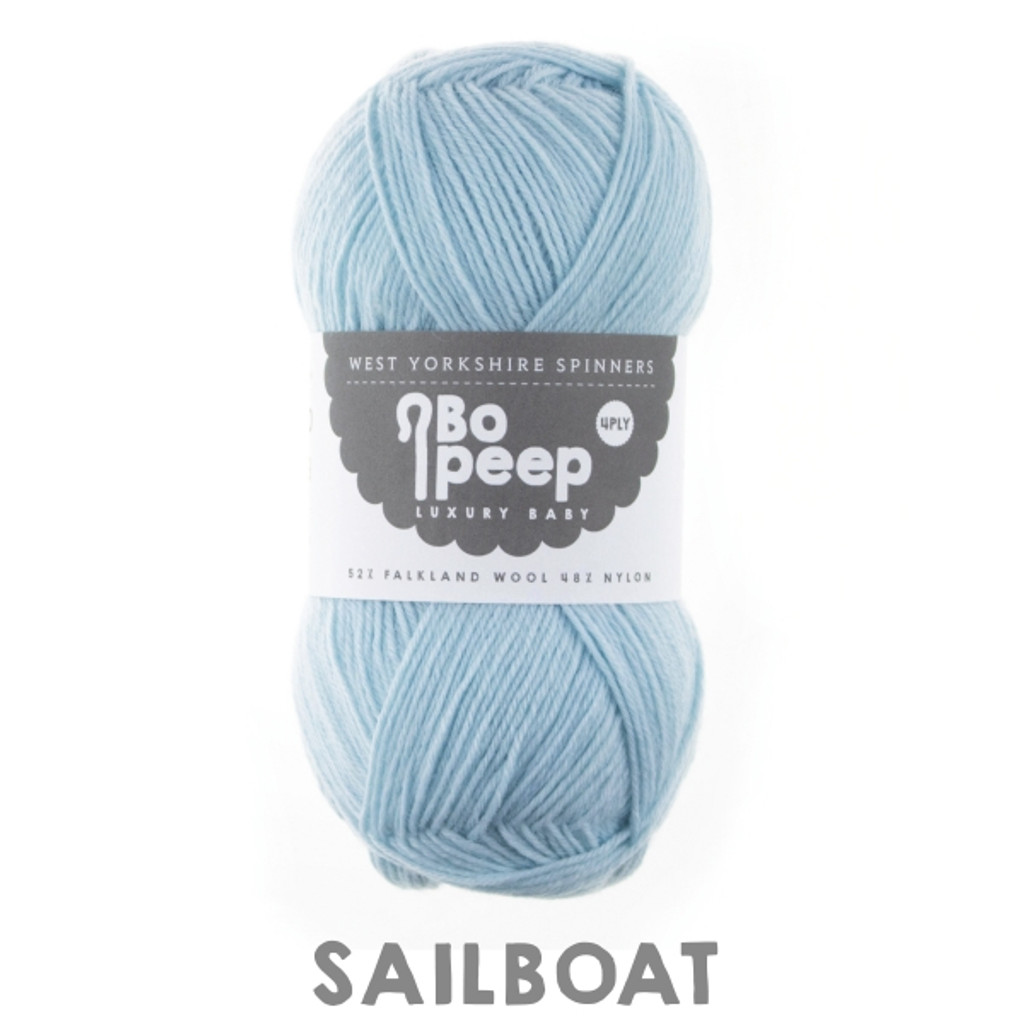WYS Bo Peep Luxury Baby 4 ply Knitting Yarn, 50g | 144 Sailboat