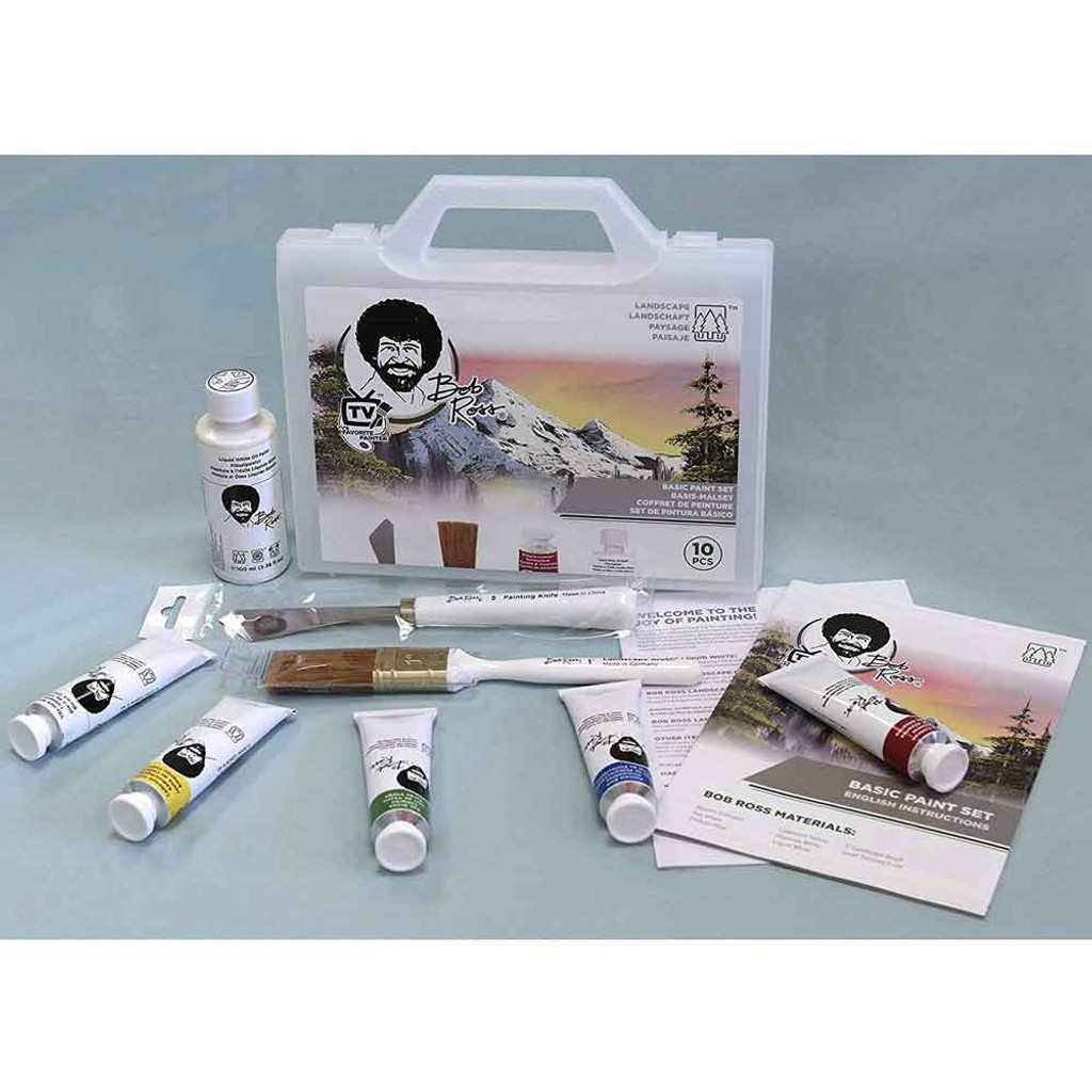 Bob Ross Basic Paint Set with Case   Various Types