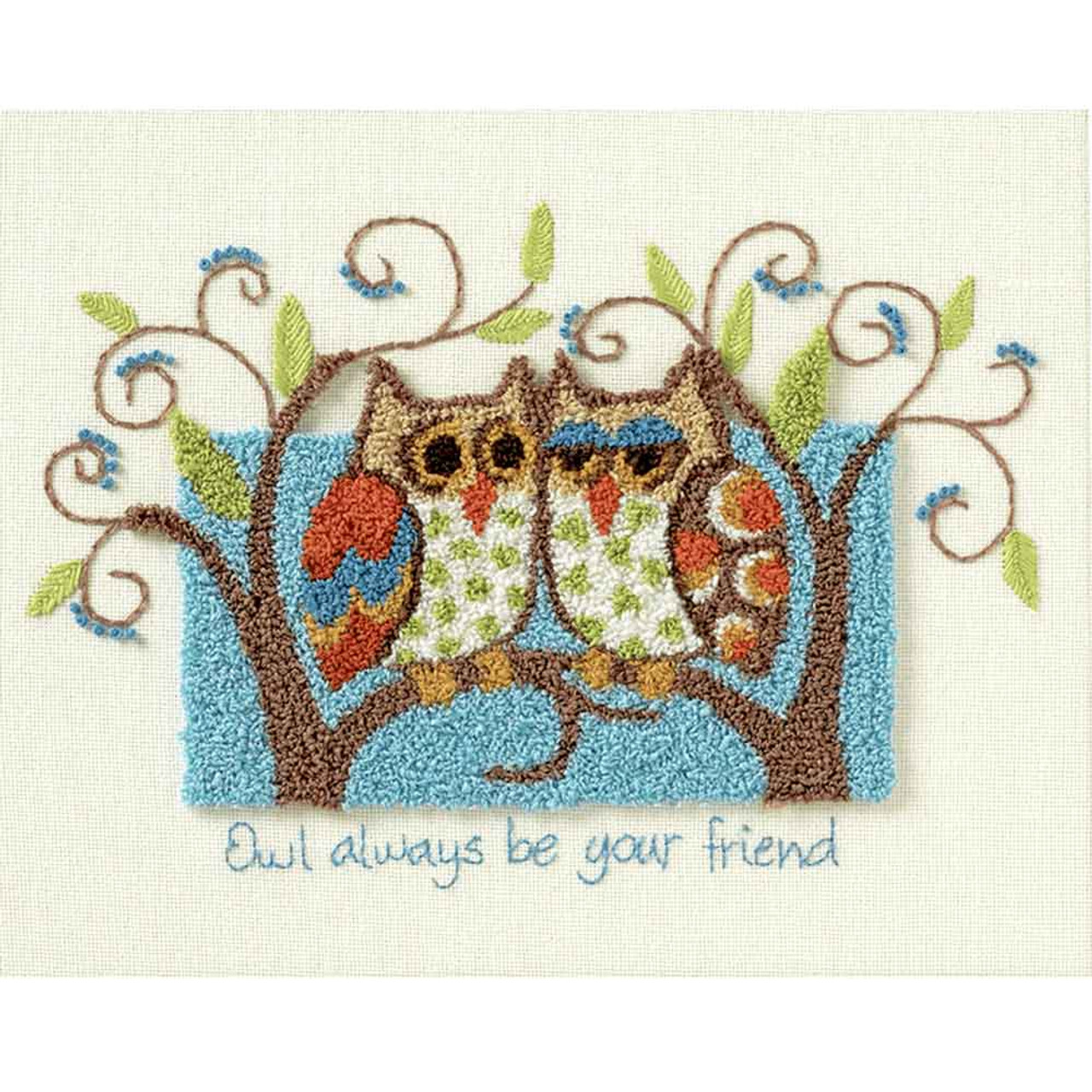 Owl Always Be Your Friend | Punch Needle Kit