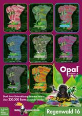 Opal Rainforest 16 (Regenwald XVI) 4 Ply Sock Knitting Yarn | Various Shades