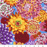 Kaffe Collective Aug 2020 | Kaffe Fassett | Free Spirit | PWPJ101.MULTI | Dancing Dahlias Multi