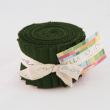 Bella Solids | Moda Fabrics | Junior Jelly Roll | 9900JJR-43 | Pine