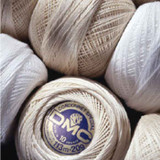 DMC Cordonnet Crochet Cotton, No. 60, 80 & 100 | Various Colours