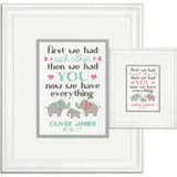Dimensions Counted Cross Stitch Kits | Birth Record | Family Design