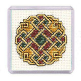 Textile Heritage | Counted Cross Stitch Magnet Kit | Celtic Jewel - Main Image