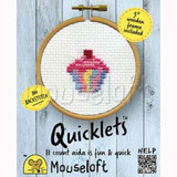 Mouseloft | Mini Cross Stitch Kits | Quicklets | Cupcake