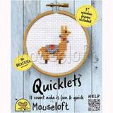 Mouseloft Mini Cross Stitch Kits   Quicklets   Llama