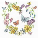 DMC | Cross Stitch Kit | Butterflies in Bloom