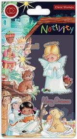 Angels Stamp Set   Nativity   Helz Cuppleditch   Craft Consortium