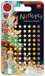 Adhesive Pearl Stars   Nativity   Helz Cuppleditch   Craft Consortium