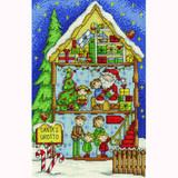 DMC | Counted Cross Stitch Kit | Santas' Grotto
