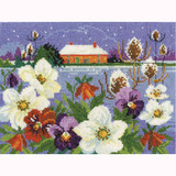 DMC | Cross Stitch Kit | Winter Garden