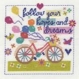 DMC | Cross Stitch Kit | Follow Your Hopes & Dreams