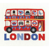 DMC | Cross Stitch Kit | London Bus