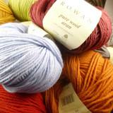 Rowan Pure Wool Aran Knitting Yarn   Various Shades (D) - Main Image