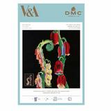 DMC | V&A Cross Stitch Kit | Foxglove Motif