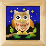 Orchidea | Framed Cross Stitch Kit | Owl