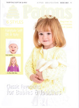 Favourite Classic Baby and Toddler Pattern Book | Patons 3851