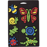 Creepy Crawlies Foam Stamps | 7 pieces Foam Stamp Set | Craft Planet