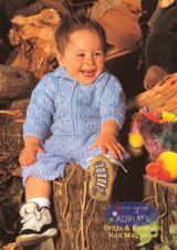Matteo Pyjama Holder, Jacket & Shorts Knitting Pattern | Adriafil Mirage and Merino DK Knitting Yarn | Free Downloadable Pattern - Main Image