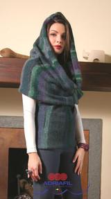 Conflitto Waistcoat Knitting Pattern | Adriafil Mistero Chunky Knitting Yarn | Free Downloadable Pattern - Main Image