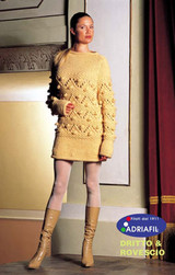 Duck Tunic Ladies Knitting Pattern | Adriafil Candy Super Chunky Knitting Yarn | Free Downloadable Pattern - Main Image