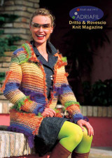 Francesca Womens Jacket Knitting Pattern | Adriafil Candy, Miro & Mars Knitting Yarn | Free Downloadable Pattern - Main Image