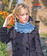 Merano Collar / Neck Warmer Knitting Pattern | Adriafil Candy Super Chunky Knitting Yarn | Free Downloadable Pattern - Main Image