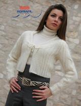 Grazie Bolero Knitting Pattern | Adriafil Kid Mohair 3Ply/4Ply Knitting Yarn | Free Downloadable Pattern - Main Image