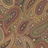 Arboretum Metallic | Moda Fabrics | 33535-16M | Paisley Multi