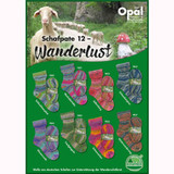 Opal Viridian Schafpate 12 Wanderlust 4 Ply Sock Knitting Yarn, 100g | Various Shades