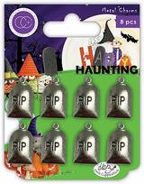 Metal Grave Stone Charms | Happy Haunting | Helz Cuppleditch | Craft Consortium