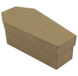 Papier Mache Coffin Box   12.5cm x 6cm   Decopatch