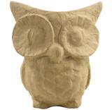 Small Papier Mache Owl | Décopatch | Exaclair